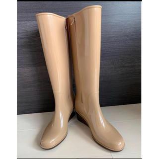 マルイ(マルイ)のマルイ レディース ロングレインブーツ ベージュ LL 長靴(レインブーツ/長靴)