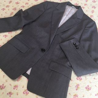 アオヤマ(青山)のパーソンズ パンツスーツ 上9下7 W72 OL ビジネス DMW(スーツ)