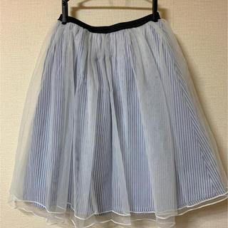 アルピーエス(rps)のチュールスカート(ひざ丈スカート)