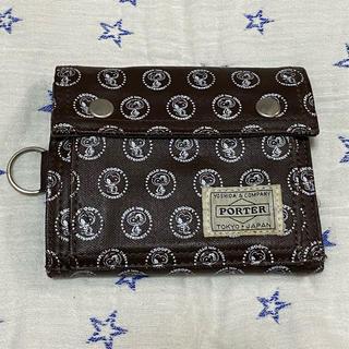 ポーター(PORTER)のポーター×スヌーピー コラボウォレット(財布)
