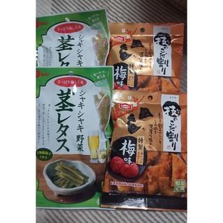 カメダセイカ(亀田製菓)の茎レタス 技のこだ割り(菓子/デザート)