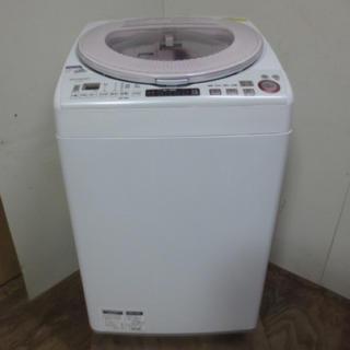 シャープ(SHARP)の最終値下げ SHARP 洗濯乾燥機 ES-TX850 プラズマクラスター (洗濯機)