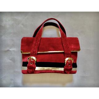 グリモワール(Grimoire)の50s CROWN LEWIS Velvet Hand bag(ハンドバッグ)