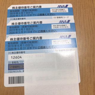 エーエヌエー(ゼンニッポンクウユ)(ANA(全日本空輸))のANA株主優待 割引券(航空券)
