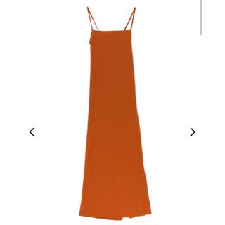 フィーニー(PHEENY)のPHEENY Pe/c random rib camisole dress(ロングワンピース/マキシワンピース)