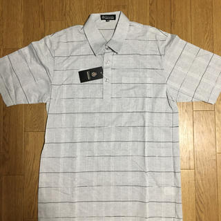 シマムラ(しまむら)の新品未使用タグ付き 紳士服 半袖ポロシャツ サイズM(ポロシャツ)