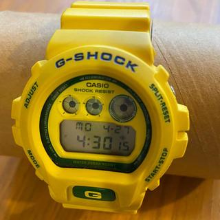 ジーショック(G-SHOCK)のG-SHOCK/限定/DW-6900/サッカーW杯/ブラジル/2006/イエロー(腕時計(デジタル))