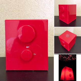 mix style BATH PLANETARIUM RED COLOR(天井照明)