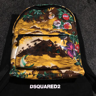 ディースクエアード(DSQUARED2)のSALE‼️【新品】DSQUARED2 トロピカル バックパック(バッグパック/リュック)
