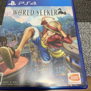 ONE PIECE WORLD SEEKER PS4(家庭用ゲームソフト)