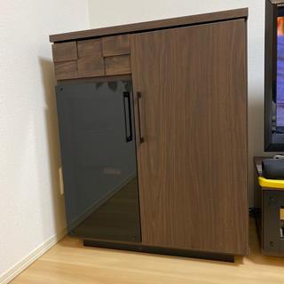 GART ガルト COLKコルク カウンター レンジ台  キャビネット 食器棚(キッチン収納)