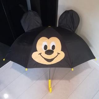 ディズニー(Disney)のミッキー 耳付き傘 47cm(傘)