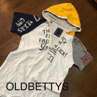 オールドベティーズ(OLD BETTY'S)のオールドベティーズ  フード付きTシャツ(Tシャツ(半袖/袖なし))