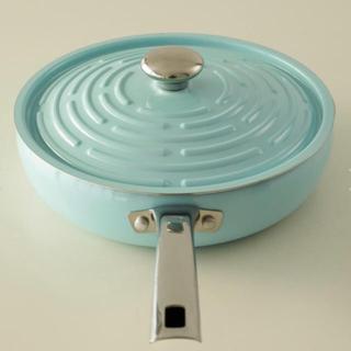 マイヤー(MEYER)のMEYER マイヤーサークルパン 26cm ブルー(鍋/フライパン)