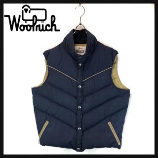 ウールリッチ(WOOLRICH)の90s USA製 Woolrich ウールリッチ ダウンベスト  ショート丈(ダウンベスト)