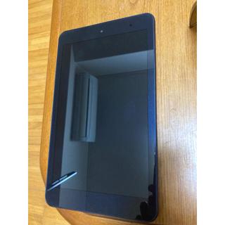 キョウセラ(京セラ)のしん様専用 Qua tab 01 ネイビー 本体のみ(タブレット)