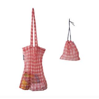 エモダ(EMODA)のギンガムチェックトートバッグ 巾着セット 専用ポーチ レディース(トートバッグ)