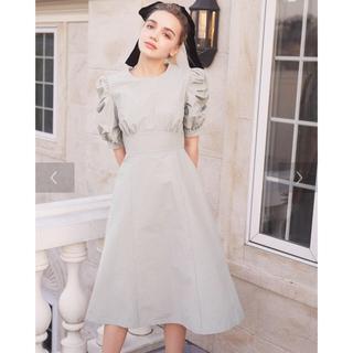 メゾンドフルール(Maison de FLEUR)のパワショルタイトドレス(ひざ丈ワンピース)