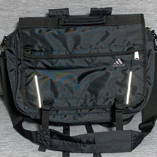 アディダス(adidas)の美品 adidas 3ウェイバッグ ビジネス 通塾 通学に 黒(レッスンバッグ)