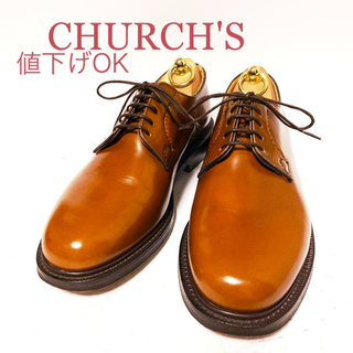 チャーチ(Church's)の296.CHURCH'S SHANNON プレーントゥ 5都市 7G(ドレス/ビジネス)
