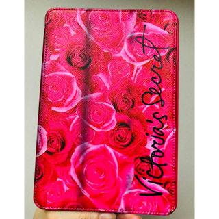 ヴィクトリアズシークレット(Victoria's Secret)の本日出品終了ビクトリアシークレットローズiPadminiケースロス購入ビクシー(iPhoneケース)
