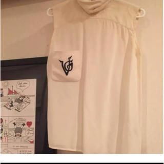 ヴァレンティノ(VALENTINO)のValentino ヴィンテージ シルクブラウス 代官山ヴィンテージショップ購入(シャツ/ブラウス(半袖/袖なし))