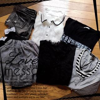 シマムラ(しまむら)のお洋服 まとめ売り 10 *。(シャツ/ブラウス(半袖/袖なし))