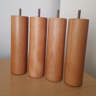 ムジルシリョウヒン(MUJI (無印良品))の無印良品 木製脚(旧タイプ) 20㎝(脚付きマットレスベッド)