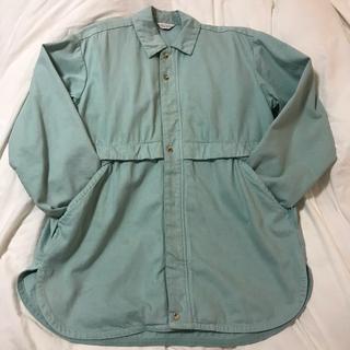 アンユーズド(UNUSED)の定価52000円 メンズ 2size UNUSED カバーオールシャツ(カバーオール)