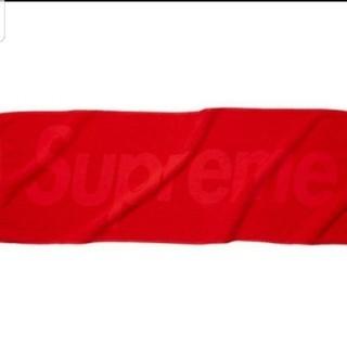 シュプリーム(Supreme)の送料無 17SS Supreme Terry Logo Hand Towel 赤(その他)