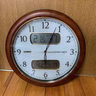 カシオ(CASIO)の電波CASIO カシオ 掛け時計 WAVE CEPTOR ウェーブセプター(掛時計/柱時計)