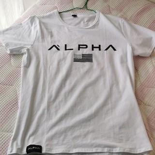 アルファ(alpha)のALPHA メンズMサイズ Tシャツ(Tシャツ/カットソー(半袖/袖なし))