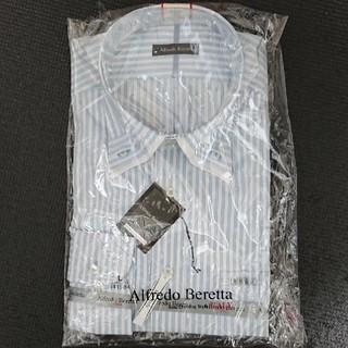 ワイシャツ 白×水色 (L)(シャツ)