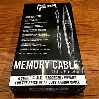 ギブソン(Gibson)のGibson MEMORY CABLE 16ft/5meter(シールド/ケーブル)