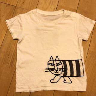 リサラーソン(Lisa Larson)のリサラーソン【サイズ90】UNIQLO Tシャツ 白(Tシャツ/カットソー)