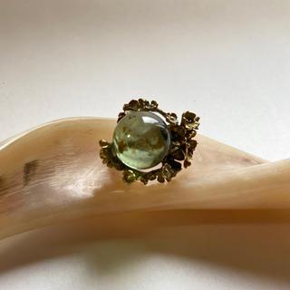 グリモワール(Grimoire)のレネットエミラベル Grimoire 水晶リング アンティーク (リング(指輪))