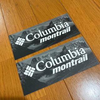 モントレイル(montrail)の☆非売品☆コロンビアモントレイル  ステッカー 2枚セット(その他)