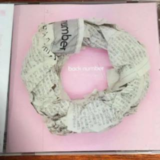 バックナンバー(BACK NUMBER)の★ back number オールドファッション CD(ポップス/ロック(邦楽))
