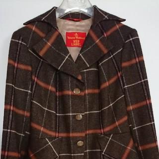 ヴィヴィアンウエストウッド(Vivienne Westwood)の  美品ヴィヴィアンウエストウッド スーツ・スカート上下チェック柄(スーツ)