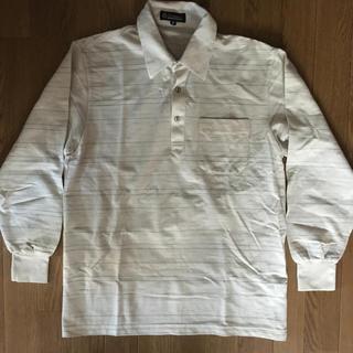 シマムラ(しまむら)の新品未使用 紳士服 長袖ポロシャツ サイズM(ポロシャツ)