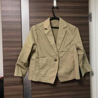 グローバルワーク(GLOBAL WORK)のジャケット ベージュ(ナイロンジャケット)