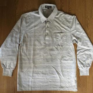 シマムラ(しまむら)の新品未使用 紳士服 長袖ポロシャツ サイズM グレー(ポロシャツ)