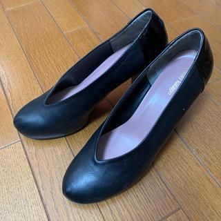chiaki katagiri ブラック チャンキーヒール(ハイヒール/パンプス)