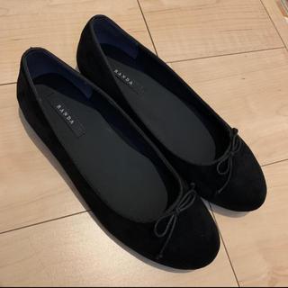 ランダ(RANDA)のランダ バレエシューズ ペタンコ靴(バレエシューズ)