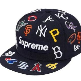 シュプリーム(Supreme)のSupreme MLB New Era® Navy 7-1/4(キャップ)