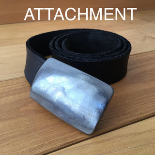アタッチメント(ATTACHIMENT)のATTACHMENT レザーベルト(ベルト)