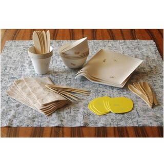 ミナペルホネン(mina perhonen)のWASARA ×  minä perhonen ピクニックキット(弁当用品)