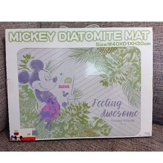 ディズニー(Disney)のDisney ミッキーマウス 珪藻土バスマット (バスマット)