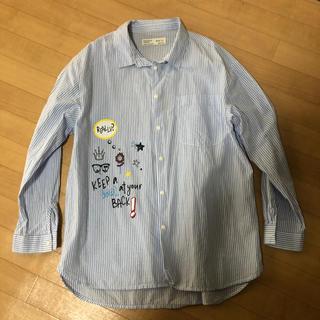 ザラ(ZARA)の【美品】ZARA  girl ザラ 140女の子 ストライプシャツ(その他)