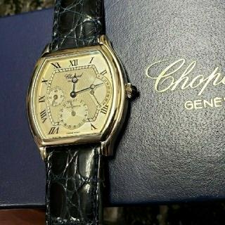 ショパール(Chopard)のショパール メンズ  自動巻  トノー k18(腕時計(アナログ))